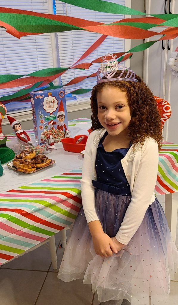 Elf on the self birthday breakfast